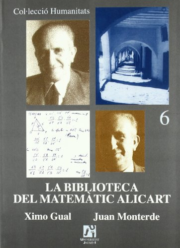 9788480213202: La biblioteca del matemàtic Alicart (Spanish Edition)