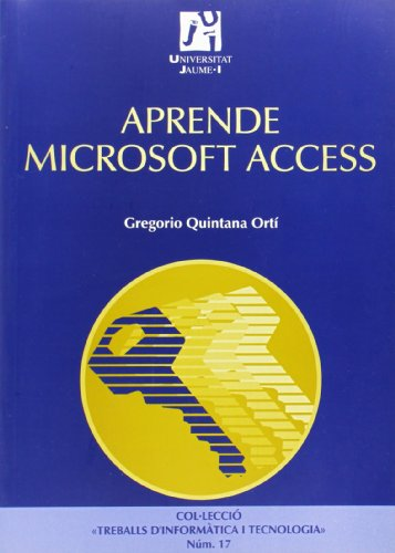 9788480214469: Aprende Microsoft Access (Spanish Edition)