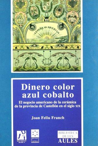 9788480215091: Dinero azul cobalto (Biblioteca de les Aules)
