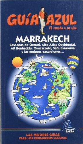 9788480238519: Guía Azul Marrakech (Guias Azules)