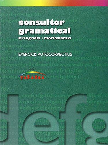 9788480252089: Consultor Gramatical - 9788480252089