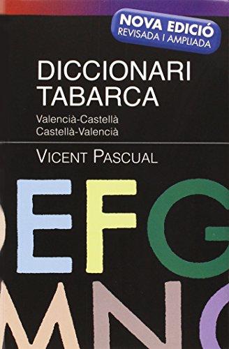 9788480252973: Diccionari Tabarca 2012: Valencià-Castellà Castellà-Valencià