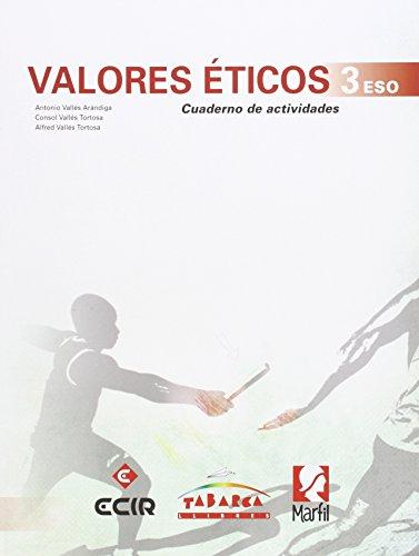 9788480253345: Valores Éticos 3º cuaderno - 9788480253345
