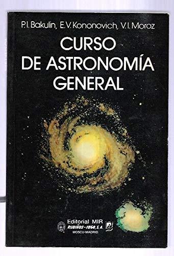 9788480410038: Curso de astronomia general (Fondos Distribuidos)
