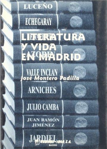 9788480411158: Literatura y vida en Madrid