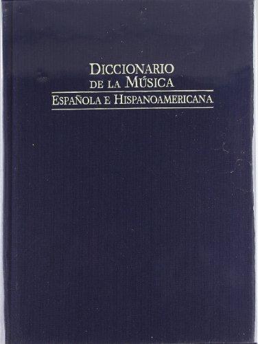 9788480483049: Diccionario de la musica española e iberoamericana 1