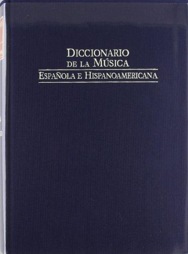 9788480483070: Diccionario de la musica española e iberoamericana 4 (Fondos Distribuidos)
