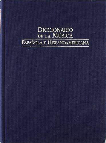 9788480483124: Diccionario de la musica española e hispanoamericana vol. 9 (Fondos Distribuidos)