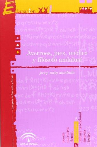 9788480512442: Averroes, juez, médico y filósofo andalusí