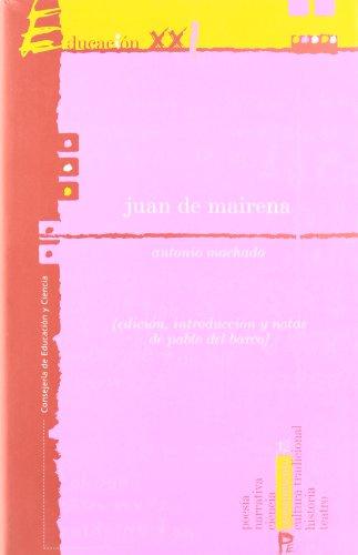 9788480517898: Juan de mairena