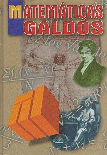 Matematicas Galdos (Spanish Edition)