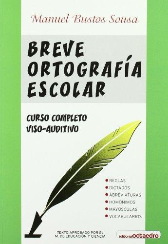 9788480630993: Breve Ortografia Escolar (Spanish Edition)