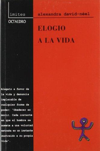9788480634328: Elogio a la Vida (Spanish Edition)