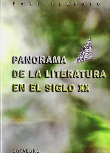 9788480634397: Panorama de la literatura en el siglo XX, Bachillerato