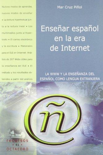 9788480635561: Enseñar español en la era de internet.