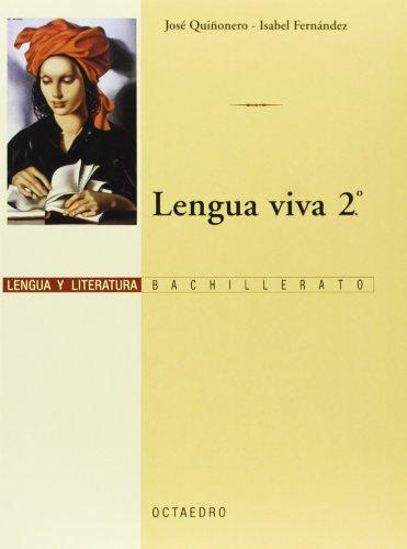 9788480635912: Lengua Viva 2º BACH: Lengua y Literatura (Programa Lengua Viva) - 9788480635912