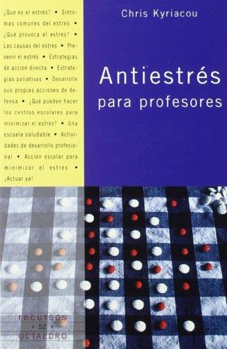 9788480635936: Antiestrés para profesores (Recursos)