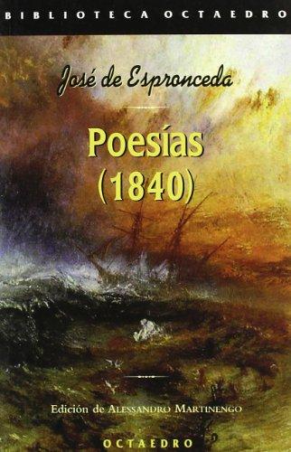 9788480636360: Poesias (1840 )