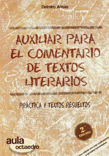 Auxiliar para el Comentario de Textos Literarios: n/a