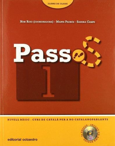 9788480638265: Passos 1. Llibre de Classe. Nivell basic (+ CD)