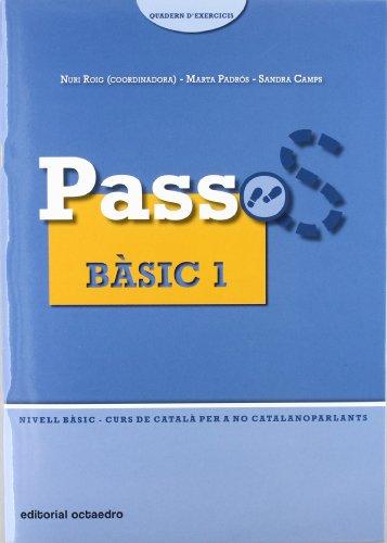 9788480638289: Passos 1. Quadern d'exercicis Bàsic 1: Nivell Bàsic. Curs de català per a no catalanoparlants