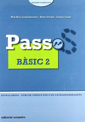9788480638296: Passos 1. Quadern d'exercicis Bàsic 2: Nivell Bàsic. Curs de català per a no catalanoparlants
