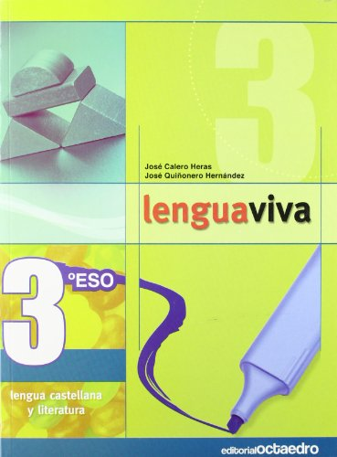 9788480638708: Lengua Viva, 3º ESO: Lengua Castellana y Literatura (Programa Lengua Viva)