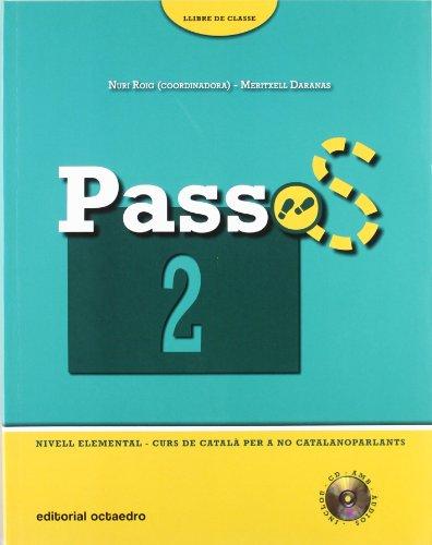 9788480638883: Passos 2. Llibre de classe. Nivell elemental (+CD)