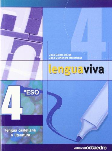 9788480639507: 4º Eso. Lengua Viva (Programa Lengua Viva) - 9788480639507: Lengua Castellana y Literatura