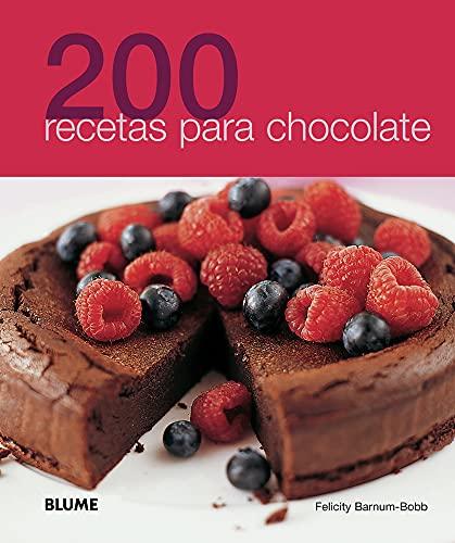 9788480768986: 200 recetas para chocolate (Spanish Edition)