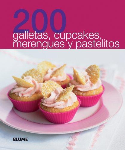 200 galletas, cupcakes, merengues y pastelitos (200: Blume
