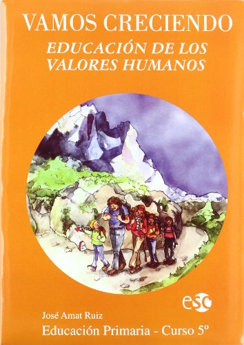 9788480771368: Vamos Creciendo - Valores Humanos