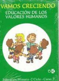 9788480771580: Vamos Creciendo - Valores Humanos