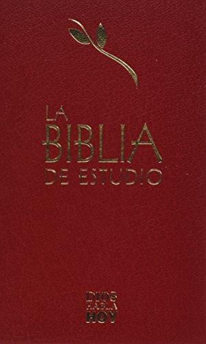 9788480830928: BIBLIA DE ESTUDIO -TAPA DURA (GRANATE)