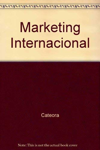 9788480861724: Marketing Internacional (Spanish Edition)