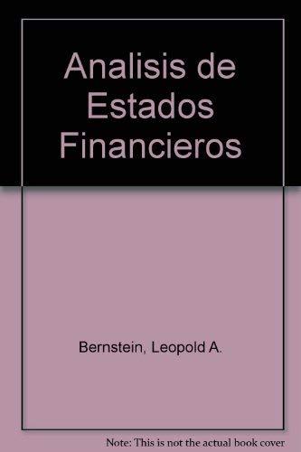 9788480861755: Analisis de estados financieros