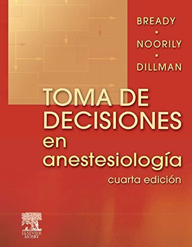 9788480863346: Toma de decisiones en anestesiología