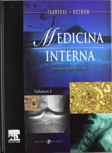 9788480863490: Farreras - medicina interna (2 vols.) (+CD) (16ª ed.)