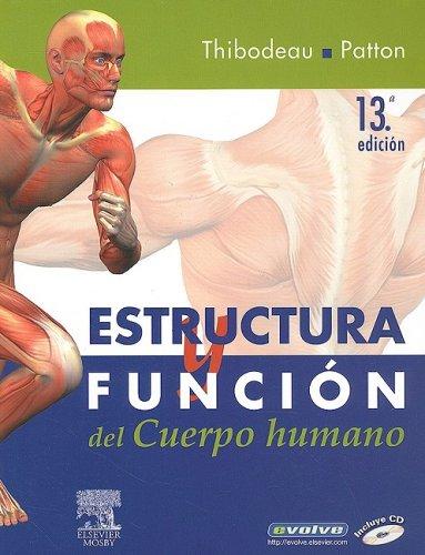 9788480863551: Estructura y función del cuerpo humano (CD-ROM + evolve), 13e (Spanish Edition)