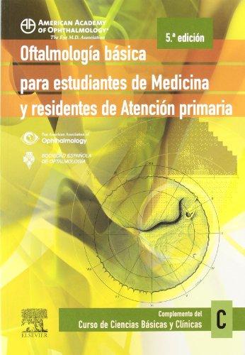 9788480863636: Oftalmología básica para estudiantes de Medicina y residentes de Atención Primaria