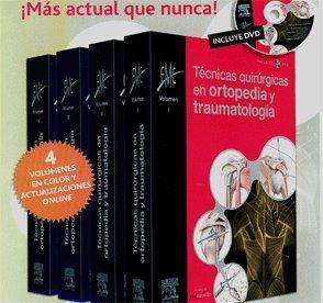 9788480863728: Técnicas Quirúrgicas En Ortopedia Y Traumatología, 4 Vols. + Actualizaciones Online