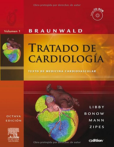 9788480863766: Braunwald - Tratado De Cardiologia (2 Vols.) (e-Dition) (+cd-Rom)