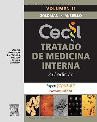 9788480863780: CECIL. Tratado de Medicina Interna, 2 vols. + Expert Consult Premium, 23e (Spanish Edition)
