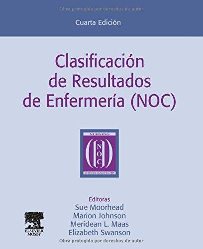 9788480863896: Clasificacion De Resultados De Enfermeria (Noc), 4E