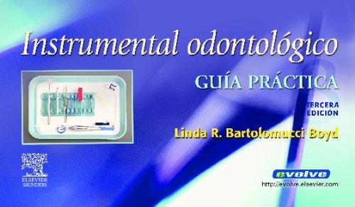 9788480864268: Instrumental Odontologico. Guia practica