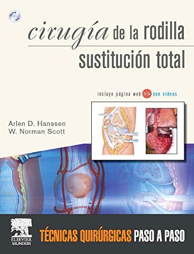 9788480866613: Cirugía la rodilla. Sustitución total + DVD y Web