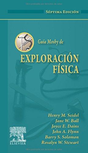 9788480867399: Guía Mosby de exploración física