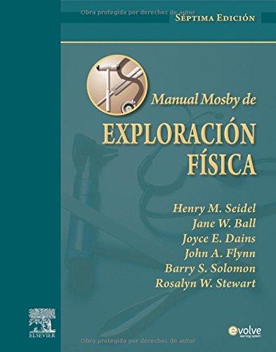 9788480868259: Manual Mosby de Exploración física
