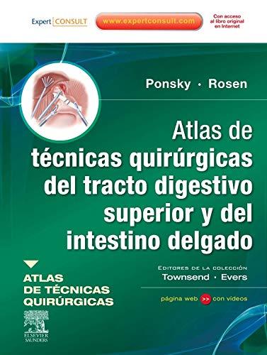 9788480868884: Atlas de técnicas quirúrgicas del tracto digestivo superior y del intestino delgado