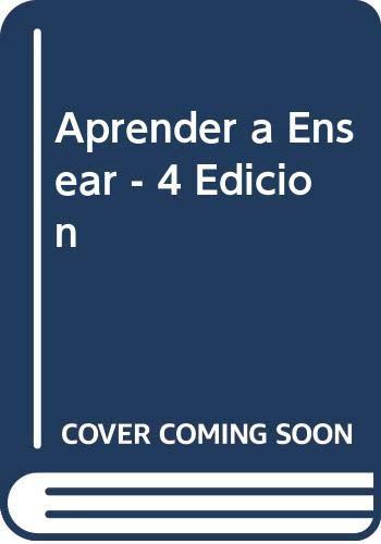 9788480880398: Aprender a Ensear - 4 Edicion (Spanish Edition)